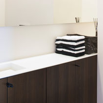 Panneau stratifié d'ameublement / MDF / pour agencement intérieur / aspect bois