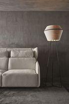 Canapé lit / contemporain / en tissu
