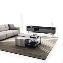 Table modulable / contemporaine / en métal / en grès