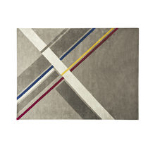 Tapis contemporain / à motif géométrique / rectangulaire