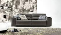 Canapé d'angle / modulable / contemporain / en cuir