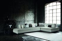 Canapé modulable / contemporain / en cuir / en simili cuir