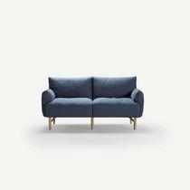 Canapé modulable / contemporain / en frêne / 2 places