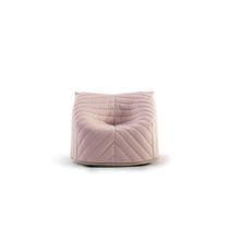 Fauteuil contemporain / en tissu