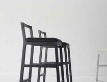 Chaise de bar contemporaine / en acier