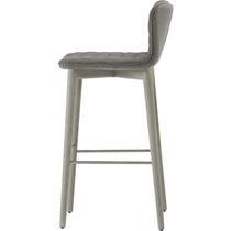 Chaise de bar contemporaine / tapissée / en polyuréthane