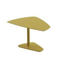 Table basse contemporaine / en bois / en verre