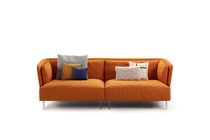 Canapé modulable / contemporain / en tissu / 2 places