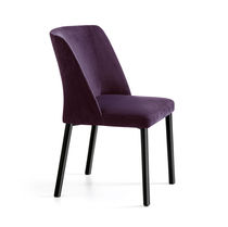 Chaise de restaurant contemporaine / tapissée / de bistrot / en tissu