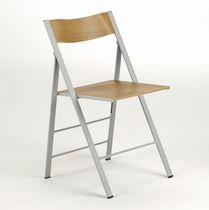 Chaise contemporaine / pliante / en frêne / contract