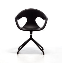 Chaise de bureau contemporaine / pivotante / piètement étoile / en plastique