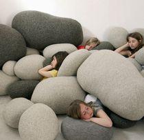 Coussin pour canapé / pour chaise / de sol / rond