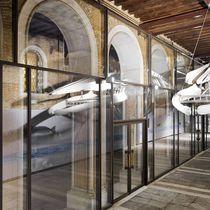 Mur-rideau en panneau / en verre / en acier / en acier inoxydable