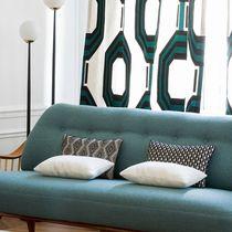 Tissu d'ameublement / pour rideaux / motif géométrique / en coton