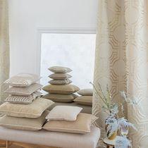 Tissu d'ameublement / uni / en lin / en polyester