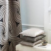 Tissu pour rideaux / motif géométrique / en coton / en soie
