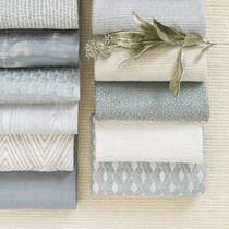 Tissu d'ameublement / pour rideaux / uni / en lin