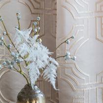 Tissu pour rideaux / motif géométrique / en polyester / en viscose