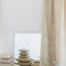 Tissu d'ameublement / pour rideaux / à motif / en soie
