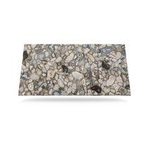 Plan de travail en bois fossilisé / en pierre semi-précieuse / en Solid Surface / de cuisine