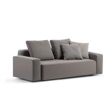 Canapé contemporain / de jardin / en tissu / professionnel