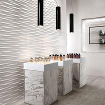 Carrelage d'intérieur / mural / en grès cérame / à motif géométrique