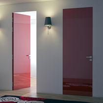 Porte affleurante / intérieure / battante / en métal