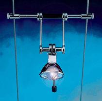 Éclairage sur câble halogène / rond / en métal / d'intérieur