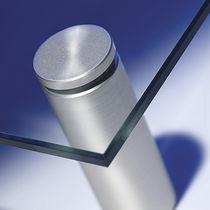 Pince à verre en métal / pour panneaux / pour mur