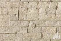 Parement en pierre / extérieur / texturé / décoratif