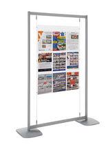 Panneau d'affichage suspendu / d'extérieur / en aluminium