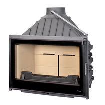 Foyer fermé à bois / à 1 face / fonte