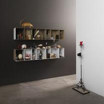 Étagère murale / contemporaine / en métal / en métal laqué