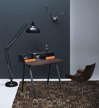 Meuble secrétaire contemporain / en bois / en acier / avec rangement intégré