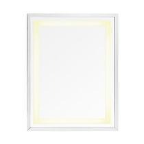 Miroir mural / contemporain / rectangulaire / lumineux
