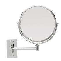 Miroir mural / contemporain / rond / grossissant
