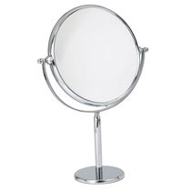Miroir à poser / contemporain / rond / grossissant