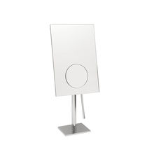 Miroir à poser / contemporain / rectangulaire / grossissant