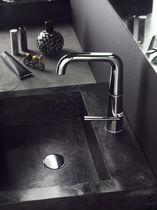 Mitigeur pour vasque / en laiton / 1 trou