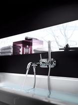 Mitigeur pour baignoire / mural / en laiton chromé / 1 trou