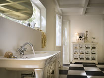 Mélangeur pour vasque / à poser / en laiton / de salle de bain