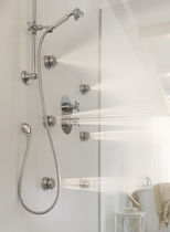 Set de douche encastrable au mur / classique / avec douche à main