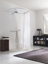 Set de douche encastrable au mur / classique / avec douche à main / avec pommeau fixe