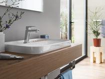 Mitigeur pour vasque / mural / en laiton / 1 trou