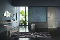 Mitigeur pour vasque / mural / en laiton chromé / thermostatique