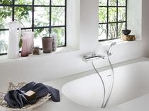 Mitigeur pour baignoire / de douche / en laiton / 2 trous