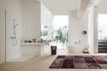 Mitigeur de baignoire / mural / en laiton chromé / 2 trous