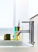 Mitigeur pour vasque / sur plan / en laiton / 1 trou