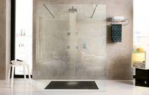 Set de douche encastrable au mur / contemporain / avec pommeau fixe