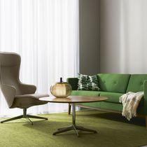 Table basse contemporaine / en marbre / en chêne / en stratifié